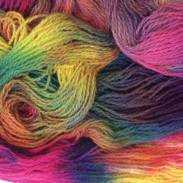 Hand Dyed Shetland Wool 100gms